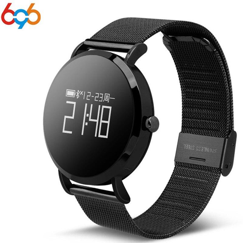 696 Smart Watch hombres CV08 reloj mujeres deportes Smartwatch Fitness Tracker presión arterial Monitor para Android IOS Ph