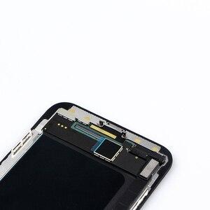 Image 2 - Für iphone x lcd XS XR XSMax OLED Komplett Mit 3D Touch Digitizer Montage Ersatz für iphone xs lcd 1 pcs LCD Top Qualität