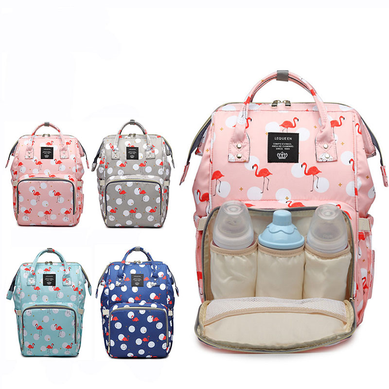 Us 5 73 33 Off Fashion Mummy Maternity Bag Large Capacity Travel Backpack Nursing Designer Baby Care Diaper Changing Ny In
