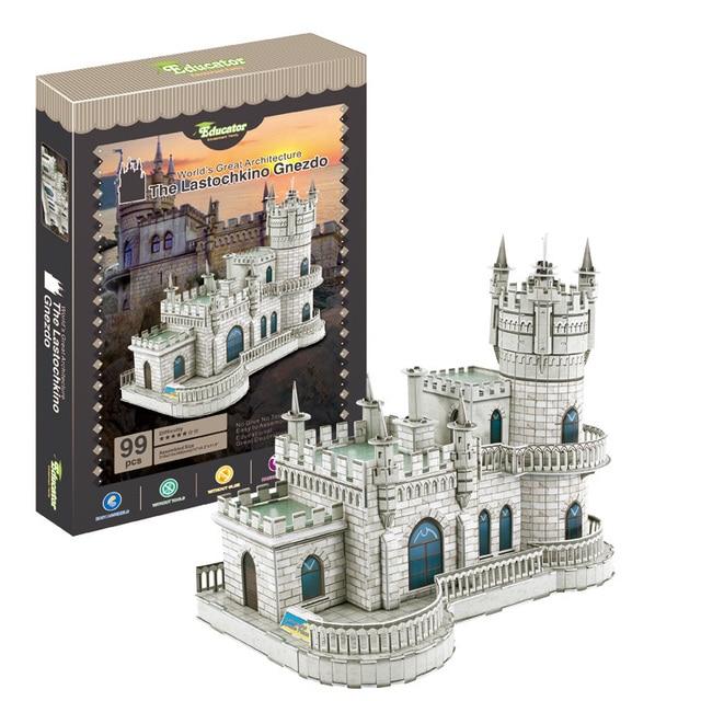 Puzzle Modèle 3D Plusieurs variétés 8