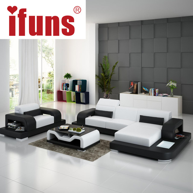 Large L Shaped Sofa White Leather Couch Living Room And Lounge