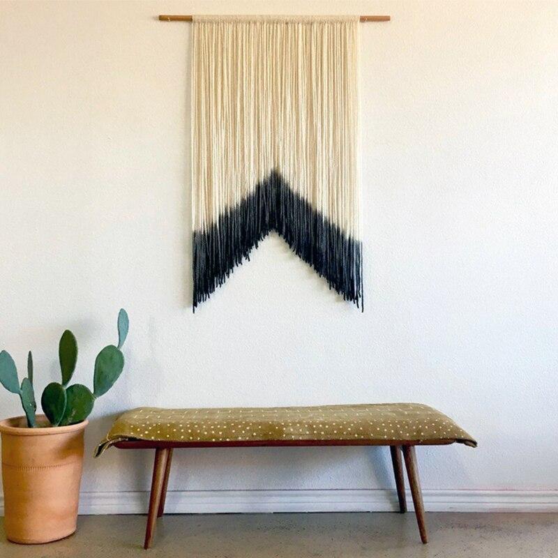 Macrame wandbehang Tapisserie Wand Dekoration Wand Mandala Tapisserie boho wohnkultur woven wand hängen Häkeln AUF BESTELLUNG