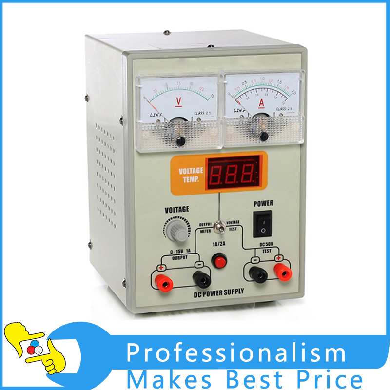 YIHUA 1502T Mobile Phone Repair DC Power Supply 15V 2A 30W DC Power Supply Adjustable dps3005 adjustable dc digital control power supply 12v24v high power mobile phone maintenance power suites dc depressurization m