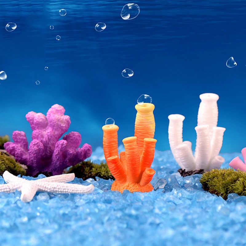 Home Decoration DIY Fish Tank Coral Resion 1PC Microlandschaft Starfish Artificial Hot Sale Ornaments Landscape Aquariums