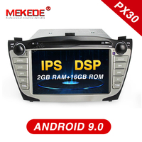Mekede Car Radio Multimedia Video Player Navigation GPS DVD Android 9.0 For Hyundai/IX35/TUCSON 2009 2015 with DSP IPS