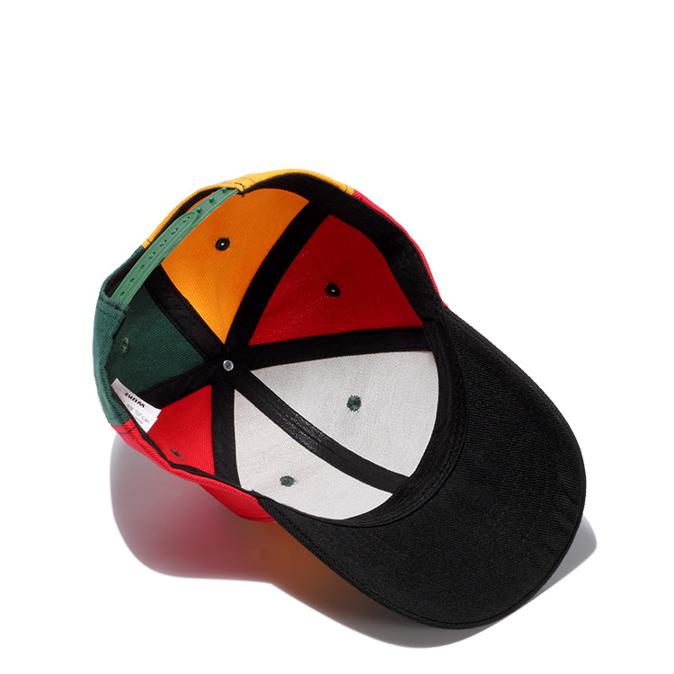 Leaf Embroidered Baseball Cap Men Women Snapback Hat Hip Hop Outdoor Sports Caps Multicolor Gorras Beisbol Drop shipping in Men 39 s Baseball Caps from Apparel Accessories