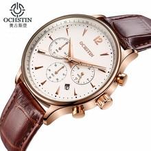 OCHSTIN Fashion Men's Watches Top Brand Luxury chronograph Sport Watches Men Clock Quartz Wrist Watch Male relojes hombre 2017