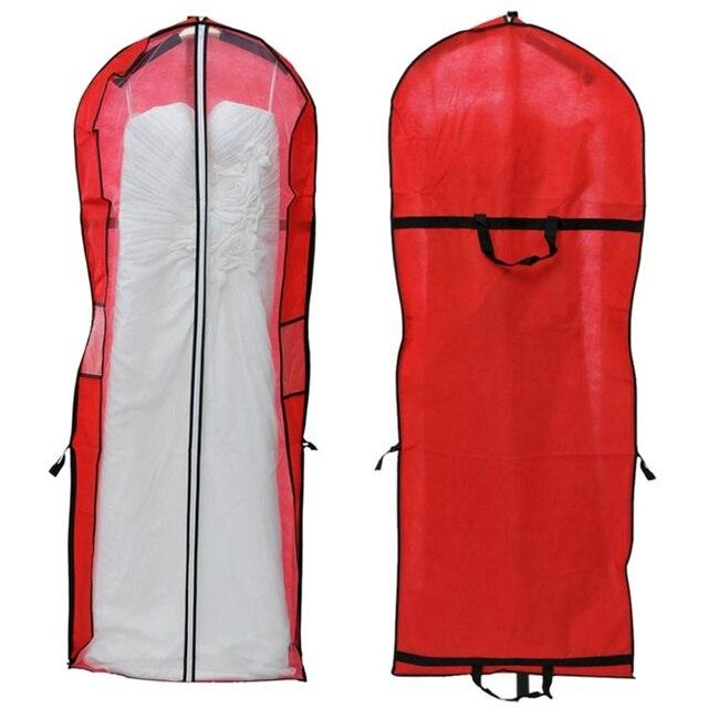 2017 Storage Wedding Dress Bag Cover Clothes Protector Case For Gown Garment Organizer Vacuum Closet