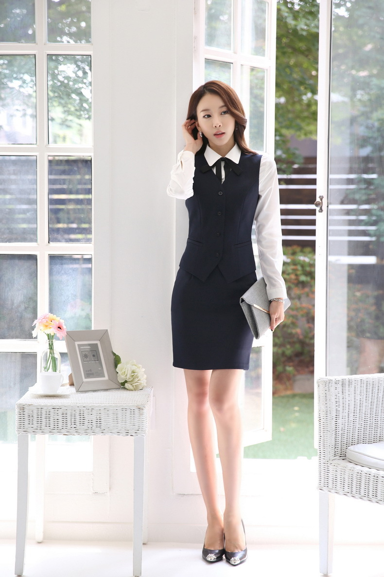 Aliexpress.com : Buy Formal Women Business Suits with Skirt and ...