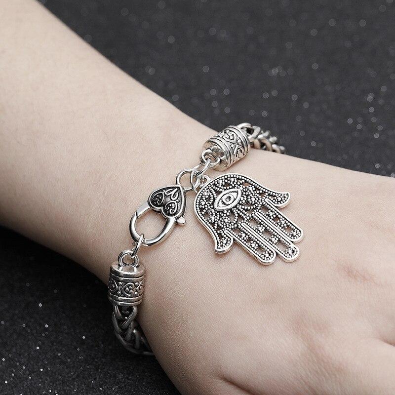 Hamsa Fatima Hand Bracelet...