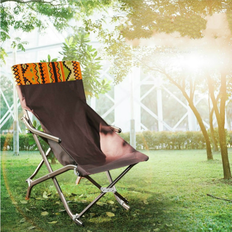 Outdoor Ultralight Aluminum Alloy Folding Chair Portable Fishing Stool Household Leisure Lounge Chair Stable Camping Rest Seat dual use folding lounge chair portable fishing stool leisure beach chair camping rest seat office nap light stool outdoor chair