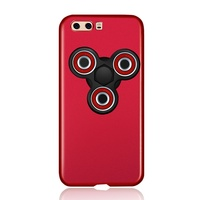 For Huawei P10 Detachable Tri Fidget Spinner Matte PC Back Cover For Huawei P 10 Hard
