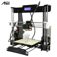 High Quality Auto Level & Normal A8 Reprap Prusa i3 DIY Easy Assemble 220*220*240mm 3D Printer Kit with Filament for free