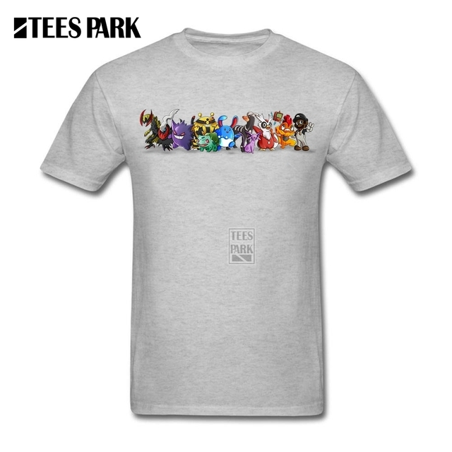 6cd76558a Pokemon T Shirts Wacom Anime Cartoon Movie Printed Teenage Round Neck Short  Sleeve T-Shirt Simple Style Men Character Tee Shirts