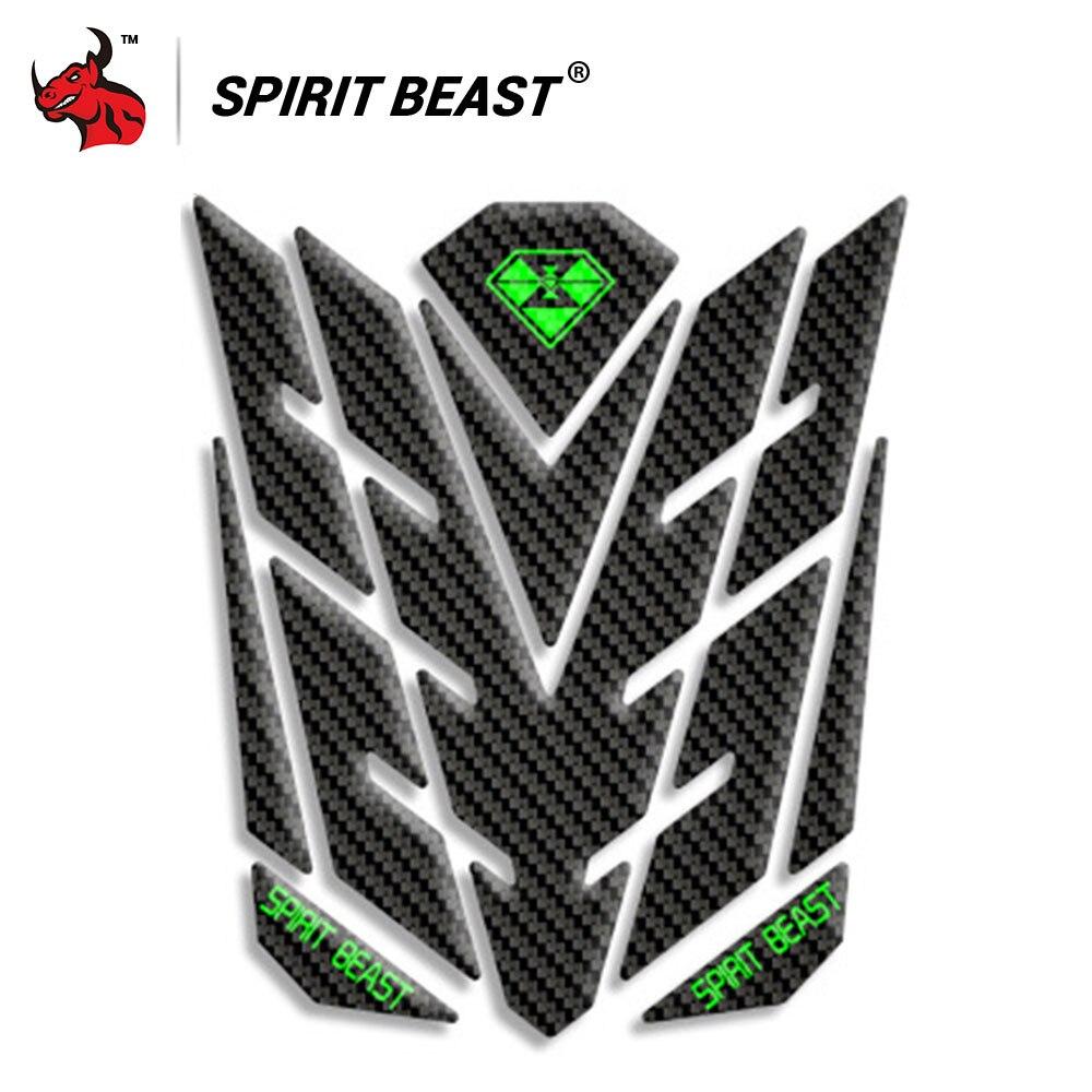 Spirit beast motorcycle sticker moto gas fuel tank pad protector cover motocross decoration decals for honda yamaha kawasaki