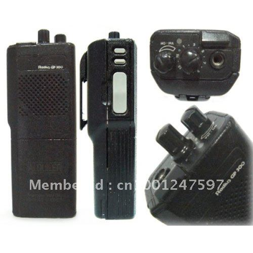 Free Shipping Hot Sale MOTOLA GP300 VHF/UHF Protable Two-way Radio Transceiver Walkie Talkie