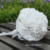 Beautiful Bride PE Foam Holding Flower Wedding Props Western Style Bridesmaid Valentine S Day Party Decoration