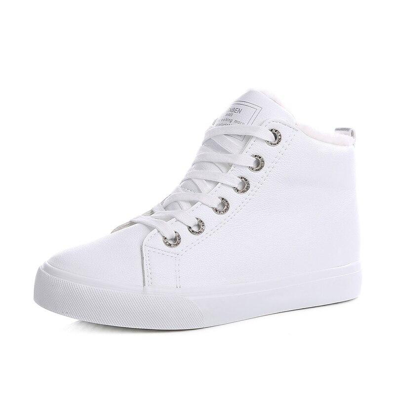 a763918193 Tamaño Trabajo El Nueva Black Nieve Niñas De white Más Moda Señoras Otoño  Mujeres Zapatos Mujer Para Invierno Botas ...