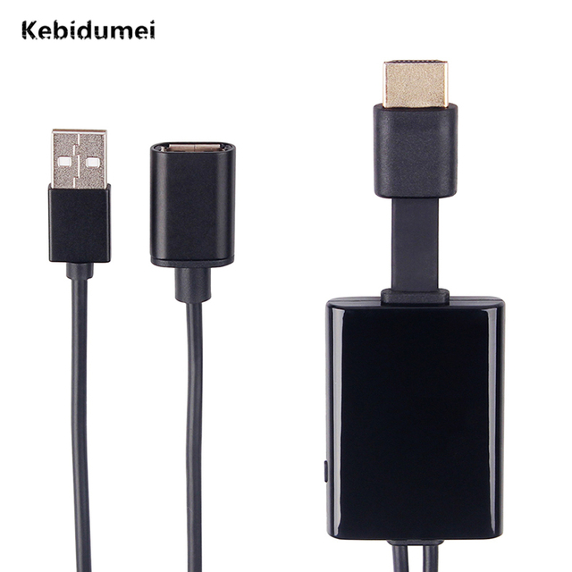 brand new 47734 6f863 Kebidumei Wired TV Stick HDMI Dongle HD Display No Delay Miracast Airplay  For IOS/Android for iPhone 8 8 plus X android-in TV Stick from Consumer ...