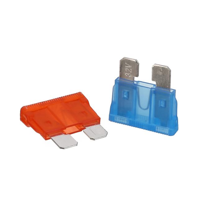 36PCS Multicolor Mix Car Automotive Blade Fuses 7.5A 10A 15A 20A 25A 30A Car Styling Standard Medium Fuse Set