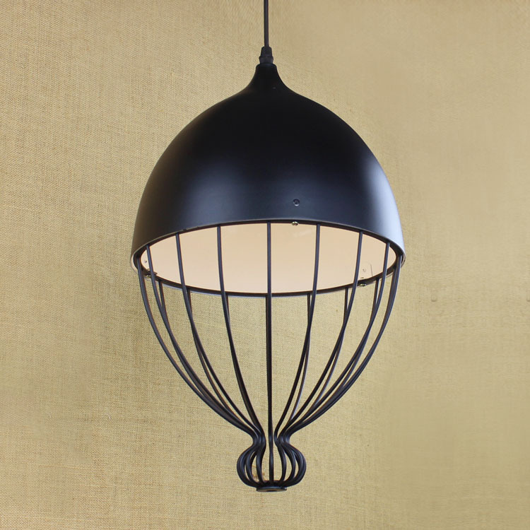 IWHD American Style Loft Style Vintage Pendant Lamp LED Black Retro Lights Industrial Pendant Lights Home Lighting Fixtures american retro pendant lights luminaire lamp iron industrial vintage led pendant lighting fixtures bar loft restaurant e27 black