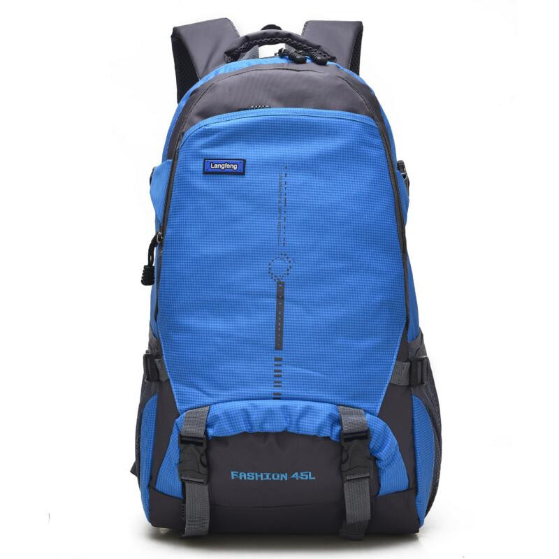 45L Newest Casual Hiking Outdoor Waterproof Backpack Sports Camping Climb Gym Travel Climbing Daypack Shoulder Bag Back Packs