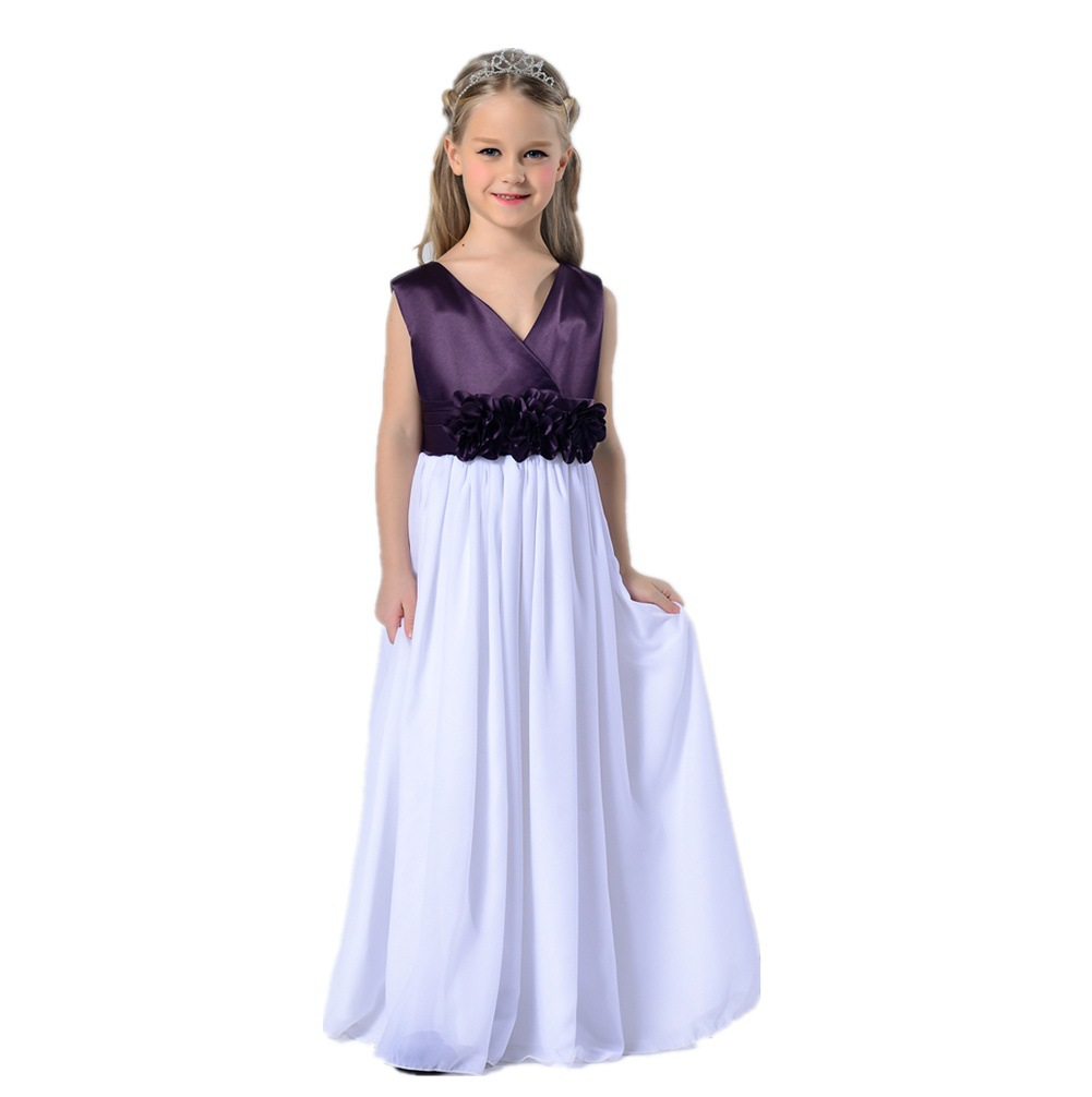 Christmas dress teen - Aliexpress Com Buy Flower Girl Dresses New Year Birthday Christmas Long Belt Sequin Teen Baby Toddler Age Size 3t 6 7 8 9 10 11 12 Years From Reliable Age