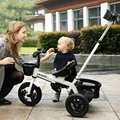 Luxury children tricycle baby bike stroller  walker -3-5 - year - old baby cart pram buggies