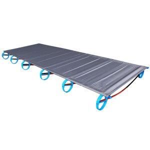 Image 1 - سرير قابل للطي جديد من سبائك الألومنيوم فائق الخفة 1.6 كجم BRS سرير قابل للنقل للتخييم في الهواء الطلق