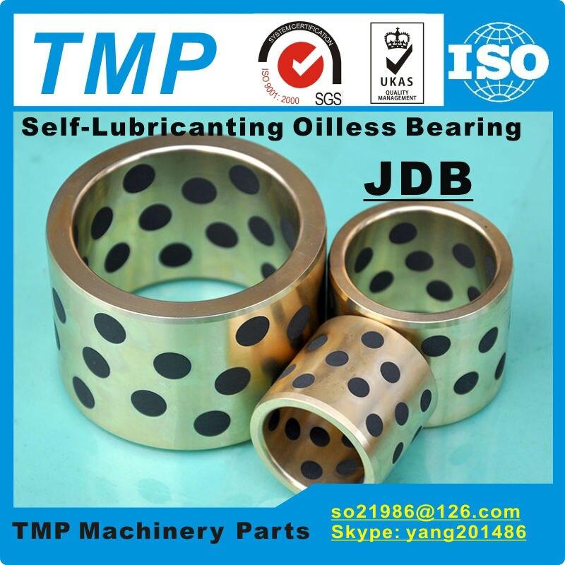 JDB6040/JDB607540 (ID * OD * L = 60*75*40mm) MPBZ60-40 sin aceite rodamiento | lubricante grafito latón/brida de cobre buje