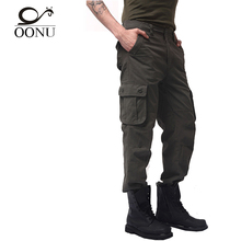 30-44 High Quality Men's Cargo joggers Pants Military for Men multi pocket Overalls tactical Army Trousers Camouflage fashion