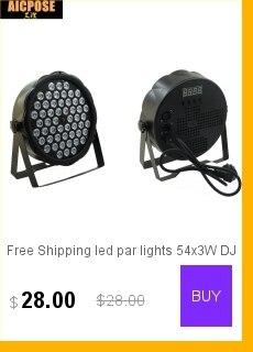 Estágio luz Par RGB projetor Com DMX512