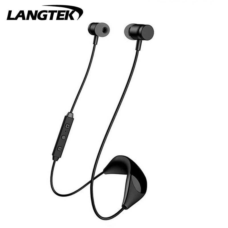 H09 Wireless earphone Sports fashion Bluetooth Headphone Stereo Music Earphone Handsfree Noise reduction Headset With Mic