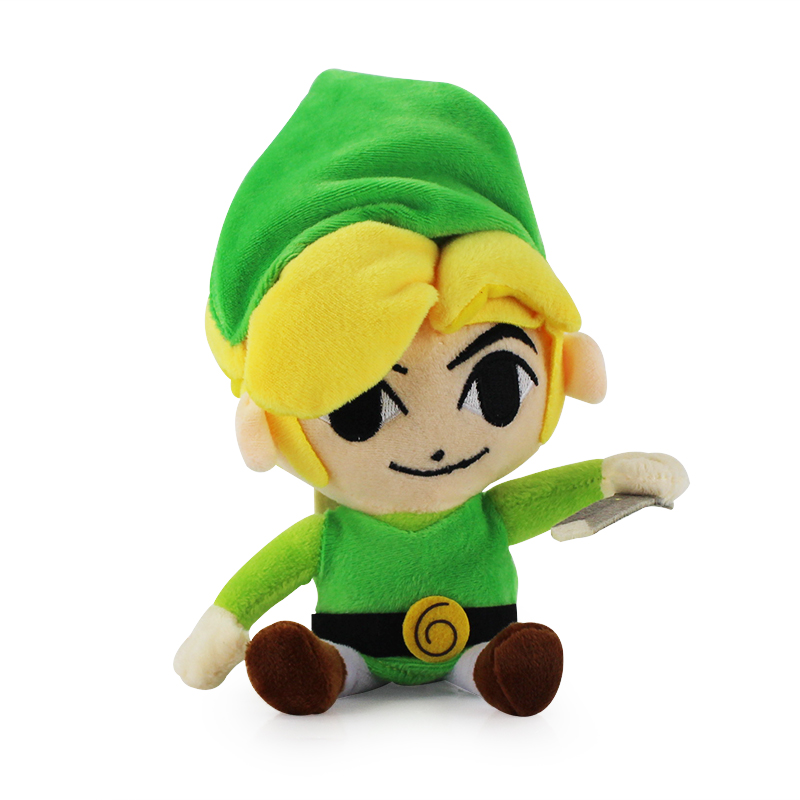 20cm Link Plush Toys Soft Stuffed HoldingsToys For Children