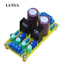 Lusya DIY LM317 LM337 DC ayarlanabilir regüle güç kaynağı modülü kurulu pozitif ve negatif ayarlanabilir