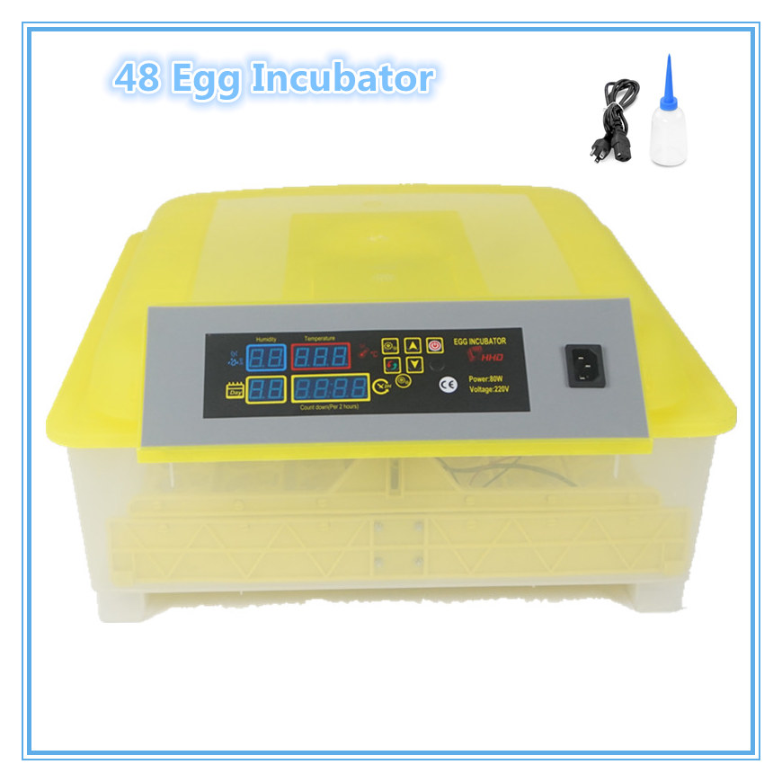 Fast ship from Germany Best Automatic Small China Poultry Egg Incubator 48 Eggs Brooder for Hatching Eggs china cheap hathery 12 egg incubator automatic brooder machines for hatching eggs