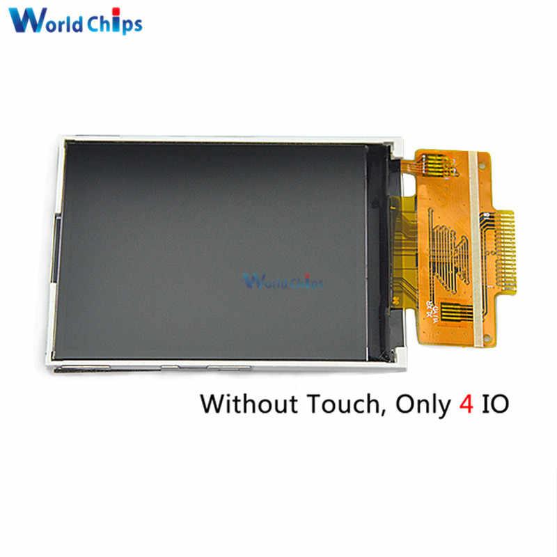 2,4 дюймов последовательный SPI ЖК-дисплей без сенсорного экрана ILI9341 4IO Порты и разъёмы может быть доставлено 18 pin 240X320 на тонкопленочных транзисторах на тонкоплёночных транзисторах Цвет Экран