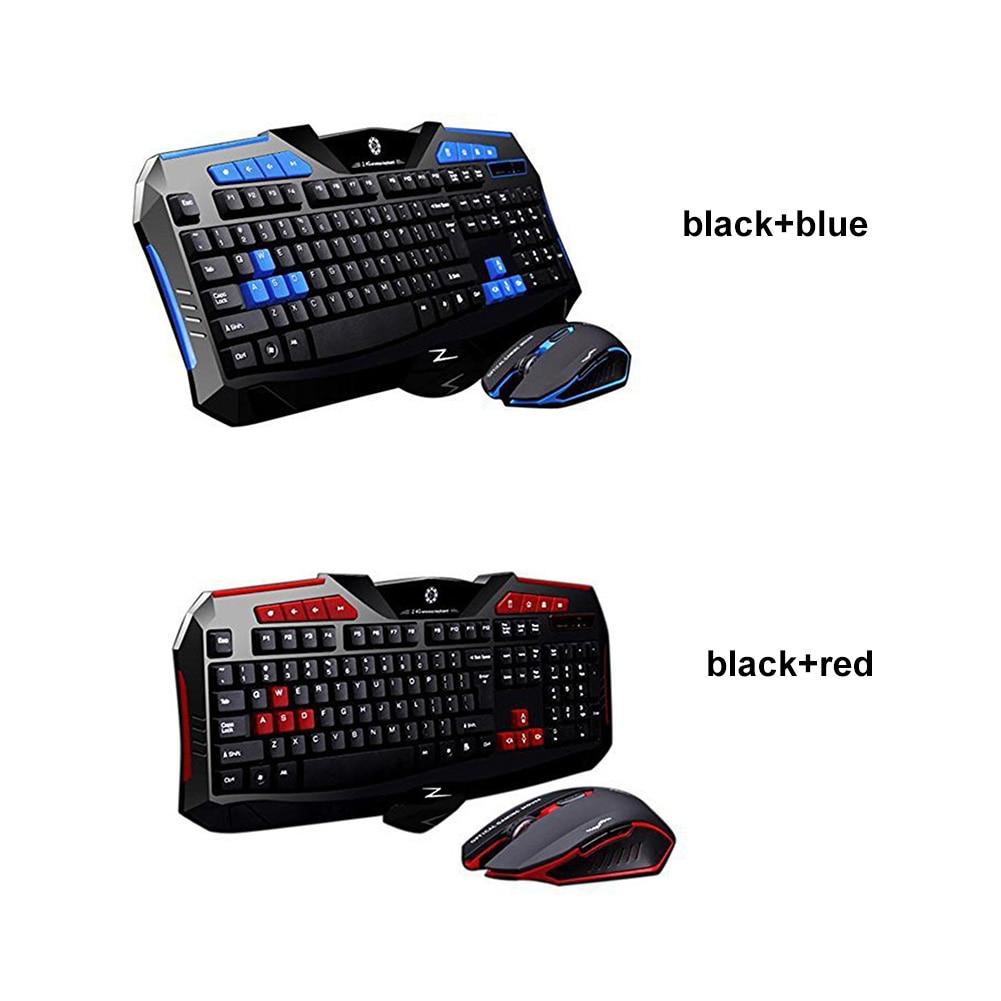F1 Wireless Keyboard Mouse suit for Game Home Office Laptop Desktop Ergonomic 2400DPI Waterproof