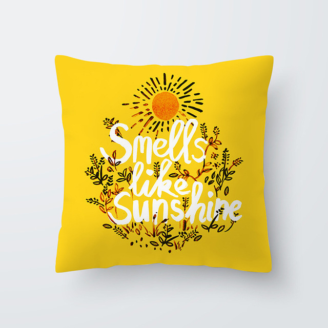 Yellow pillowcse 11