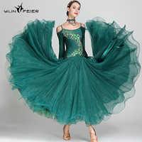 6a5e9a87be69c46 Новый бальных танцев конкурс платье Танцы бальное платье, для вальса платья  Стандартный Танцы платье женские