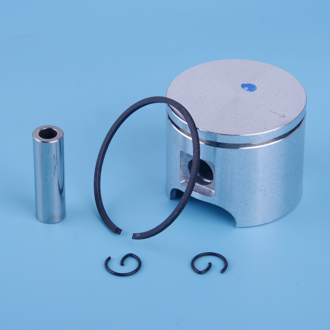LETAOSK 46mm Piston And Pin Ring Circlips Cylinder Gasket Set Fit For Husqvarna 55 55 Rancher Chainsaw Accessories