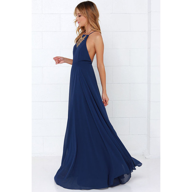 New Arrivals Lady Dresses Women Sexy Chiffon Sleeveless Slim Fit Dress Party Long Maxi Gown Dresses Plus Size Women Clothing