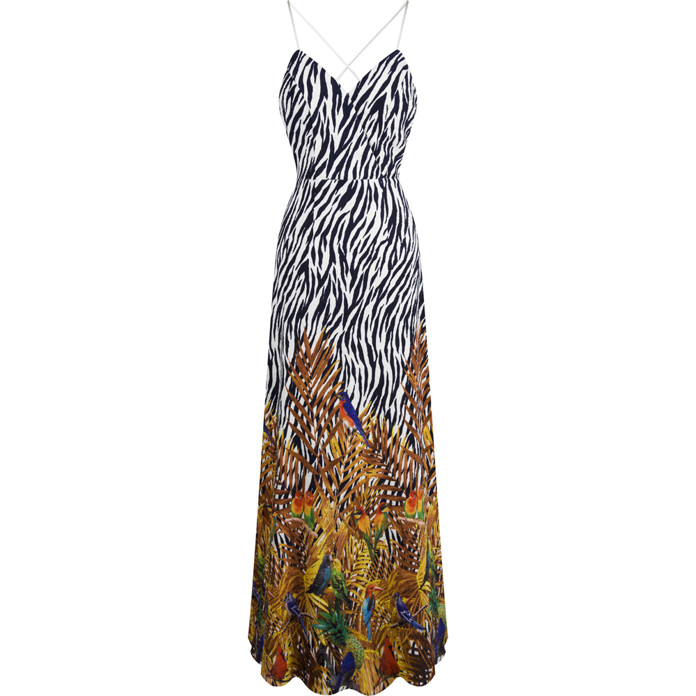 Cheap zebra print formal dresses