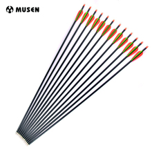 100 pcs od 9 mm id 7 mm arrow nocks plastic nock for 6 8 6 9 mm arrows shaft compound recurve bow hunting and shooting archery 6/12/24pcs 30 inches Fiberglass Arrows Spine 500 OD 8 mm 2 Orange 1 Green Feathers for Compound Bow Archery Hunting Shooting