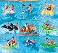 Anel da Natação do bebê Assento Inflável de Tubarão Flamingo Swan Pool Float Bebê Da Água do Verão Divertido Brinquedo Piscina para Crianças Piscina Acessórios