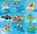 Baby Swimming Ring Shark Seat Inflatable Flamingo Swan Pool Float Baby Summer Water Fun Pool Toy Kids Swimming Pool Accessories