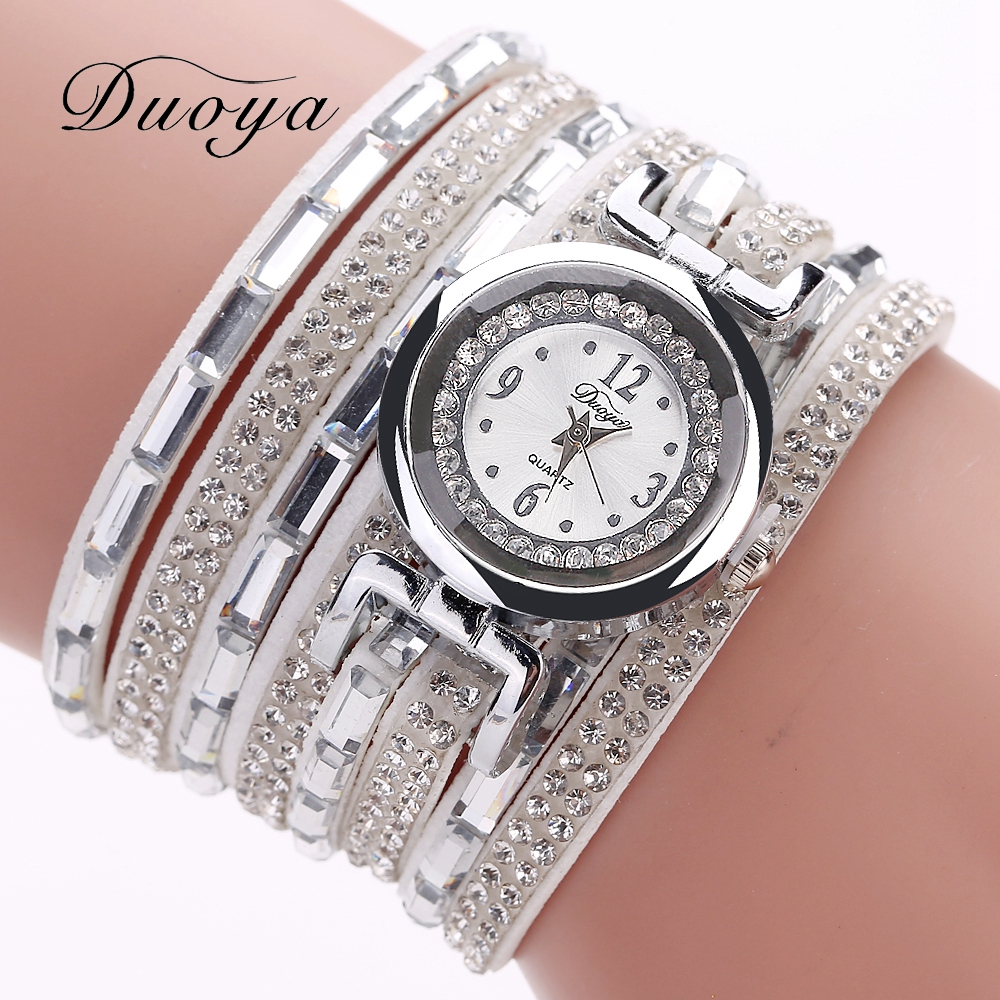 Duoya High Quality Women Watches Ladies Girl Famous Brand Bracelet Wrist Watch  Fashion Quartz Watch  Female Clock Watches президент спрей для рта мандарин 20мл