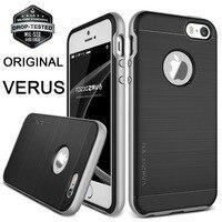 Original VERUS For Apple IPhone SE High Pro Shield Case Dual Layers Hybrid Hard Frame Brushed