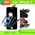 Black/White AAA Screen For iPhone 5 LCD for iphone 6 lcd Display complete with touch digitizer +Tools Free Shipping