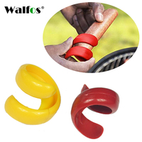 WALFOS 2 pieces Sausage Cutter Set Food -Grade Plastic Manual Fancy Sausage Cutter Spiral Barbecue Hot Dogs Slicer bbq tools